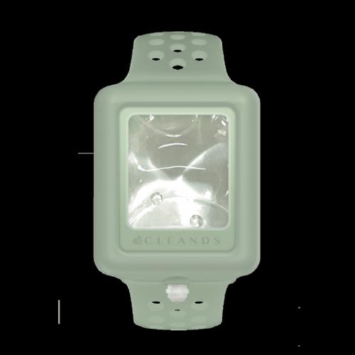 Pulsera gel hidroalcoholico verde cleands