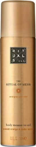 The ritual of mehr body mousse