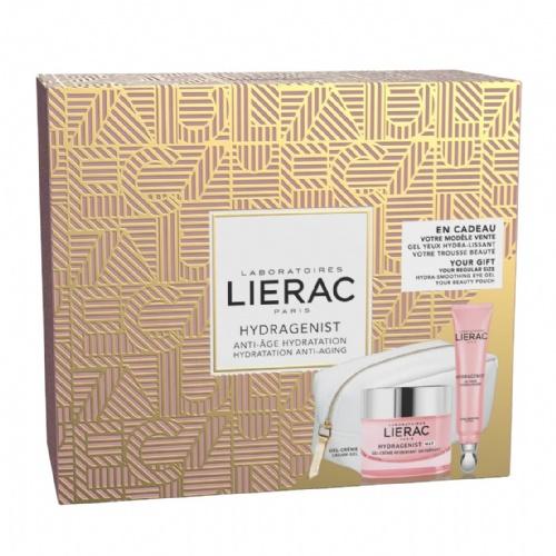 Lierac cofre hydragenist gel-crema+contorno