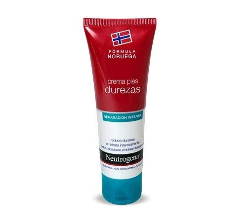 Neutrogena crema exfoliante+crema durezas pie