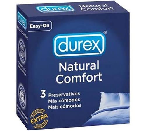Durex natural plus - preservativos (3 u)