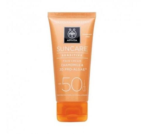 Apivita suncare piel sensible fps 50 50ml