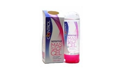 Control gel sensual massage sensitive - lubricante (200 ml)