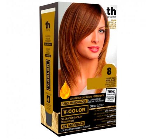 Th pharma vitalia sin amoniaco - coloracion capilar permanente (color  8 rubio claro)