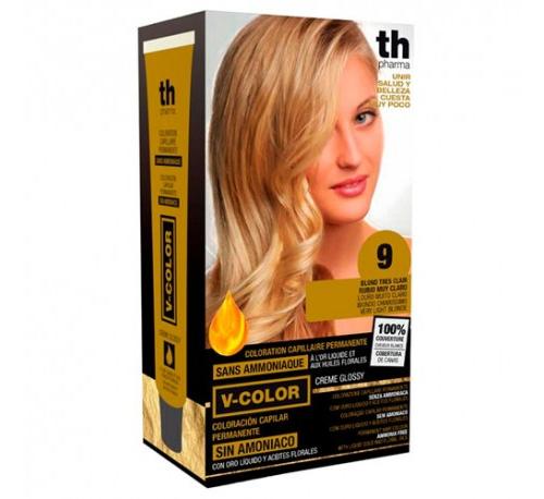 Th pharma vitalia sin amoniaco - coloracion capilar permanente (color  9 rubio muy claro)