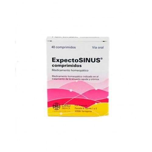 Expectosinus 40 comprimidos          dhu