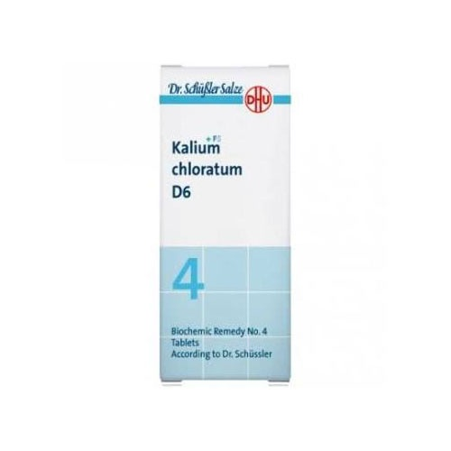 Sal 4 kalium chlorat d6  80comp      dhu