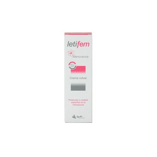 Letifem menovance crema vulvar (30 ml)