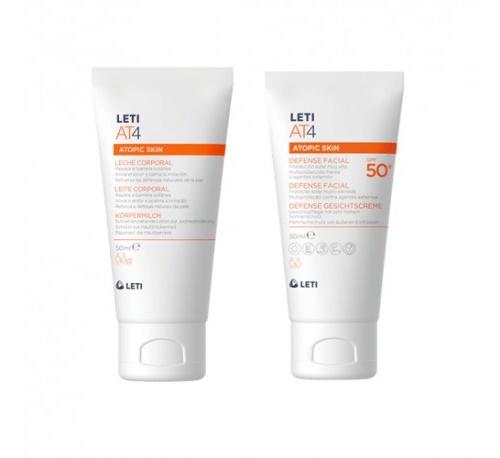 Letiat4 defense facial spf50+ (50 ml)