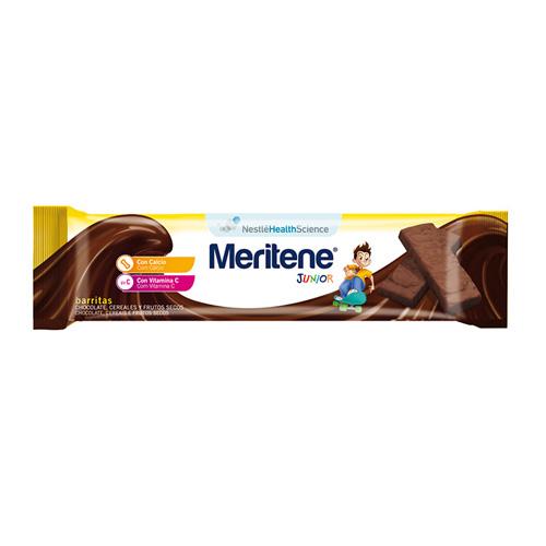 Meritene junior barritas cereales (35 g 1barrita chocolate frutos secos)