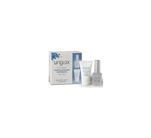Unglax tto fortalecedor intensivo uñas - endurecedor + crema (pack 10 ml + 15 ml)
