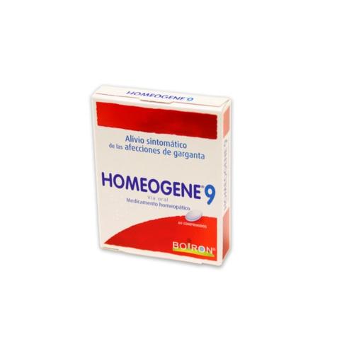 Homeogene 09 comprimidos 60u      boiron