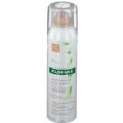 Klorane champu seco a la leche de avena - cabello castaño/ moreno (150 ml)