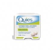 Tapones oidos cera - quies (natural 16 u)