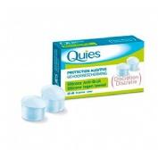Tapones oidos silicona antiruido - quies (6 u)