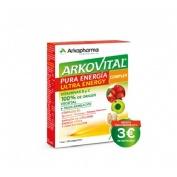 Arkovital pura energia ultra energy complex (30 comprimidos)