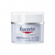 Eucerin aquaporin active crema hidratante - fps 25+ uva (50 ml)