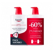Eucerin locion hidratante 1l 2âºud 60%dto