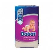 Pañal infantil - dodot protection plus activity (t- 3 06-10 kg 56 u)