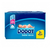 Pañal infantil pack practico - dodot activity (t- 2 3-6 kg 40 u)