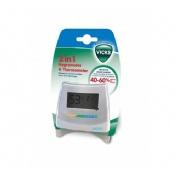 Higrometro y termometro v- 70 (2 en 1)
