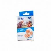 Tiritas plastic - aposito adhesivo (redondas 22 mm 20 u)