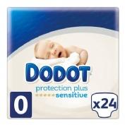 Pañal infantil - dodot protection plus sensitive (t- 0 prematuro 1.5-2.5 kg 24 u)