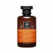 Apivita shine revitalizing shampoo naranja miel 250ml