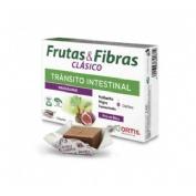 Frutas y fibras forte (12 cubos)