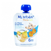 Nutriben fruta & go galletas pera platano naranj (90 g)