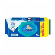 Dodot azul toallitas humedas para bebes (72 u)