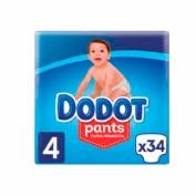 Dodot pants t/4 9-15kg 30u