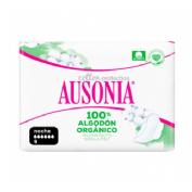 Compresas higienicas femeninas - ausonia cotton protection (noche alas 9 u)