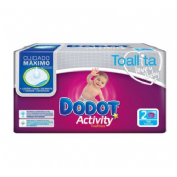 Dodot activity toallitas humedas para bebes (108 u)