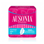 Compresas higienicas femeninas - ausonia airdry (normal alas 14 u)