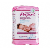 Compresas higienicas femeninas posparto - indasec primeros dias algodon (12 u)