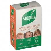 Antipiox pack champu y locion - pediculicida con liendrera y gorro