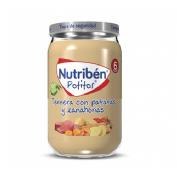 Nutriben ternera con patatas y zanahorias (potito 235 g)