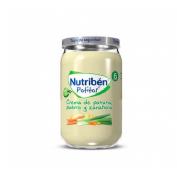 Nutriben crema de patata puerro y zanahoria (potito 235 g)