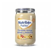 Nutriben manzana naranja platano y melocoton (potito 235 g)