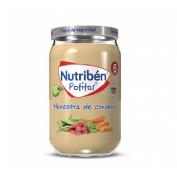 Nutriben recetas tradicionales - menestra de cordero (potito 235 g)