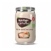 Nutriben ecopotitos pollo del corral con arroz (235 g)