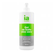 Interapothek gel de baño aloe vera (750 ml con dosificador)