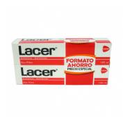 Lacer pasta dental promo 125mlx2uds