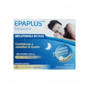 Epaplus sleepcare melatonina retard con triptofano (60 comprimidos)