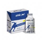 Amlsport magnesio total gel (sabor limon 12 sobres 20 ml)