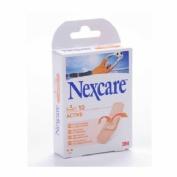 3m nexcare active - aposito adhesivo (19 x 76 mm 10 u)