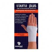 Muñequera metacarpiana - medilast trauma plus (blanca)