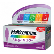 Multicentrum mujer 50+ (90 comprimidos)
