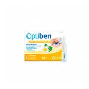 Optiben ojos irritados unidosis esteril - sequedad ocular (10 ampollas)